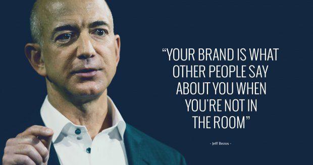 Jeff Bezos on branding.